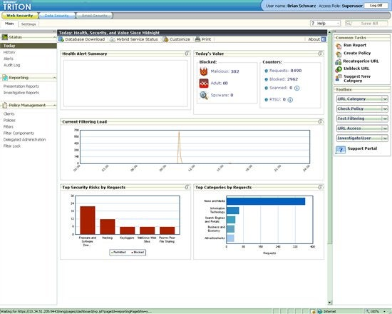 Barracuda Web Security Gateway 410 - security appliance ...   Web Security Gateway