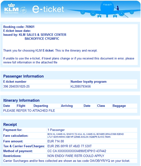 Fake Klm E Ticket Attempts To Install Backdoor Forcepoint