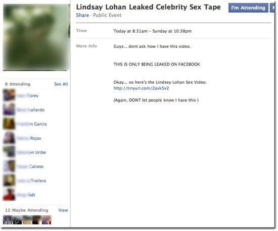 Lindsay Lohan Leaked Sex Tape