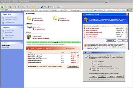 fake antivirus websites
