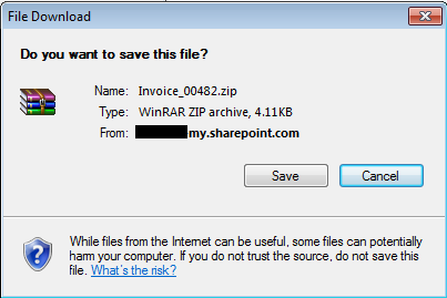 Compromised Microsoft OneDrive for Business accounts used to