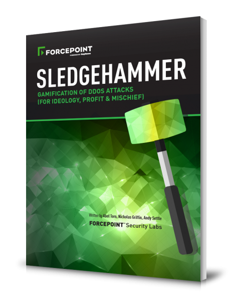 SLEDGEHAMMER - The Gamification of DDoS Attacks | Forcepoint