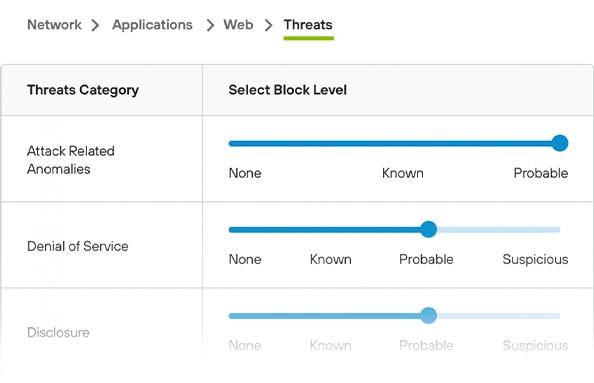 Cropped Web, Net, App Security Image