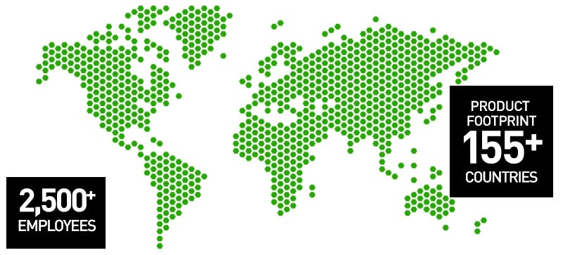 Forcepoint strong global footprint