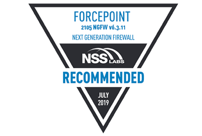 Forcepoint RECOMMENDED in NSS Labs NGFW Group Test for Seventh Year in a Row