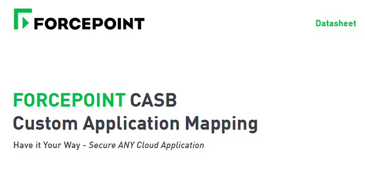 CASB Custom Application Mapping