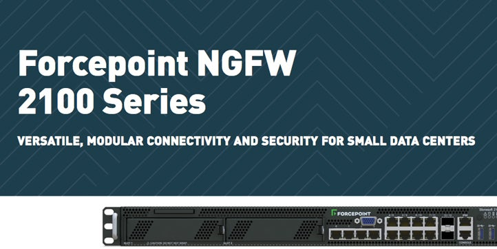 Forcepoint NGFW 2100 Series