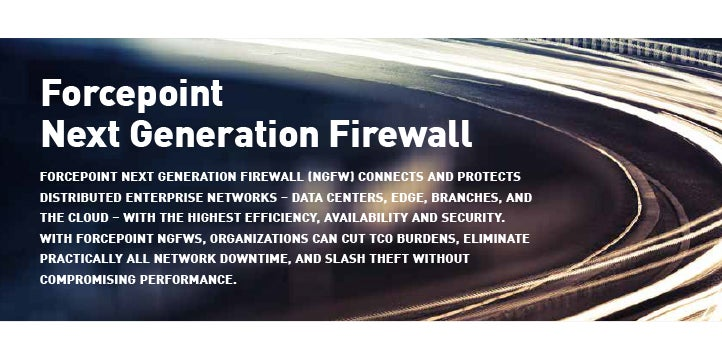 Forcepoint Next Generation Firewall (NGFW)