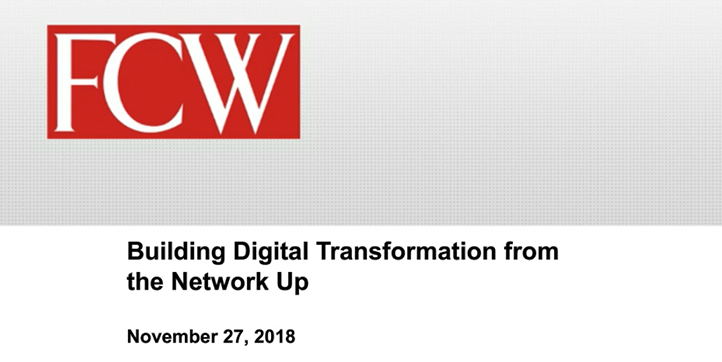 Building Digital Transformation from the Network Up