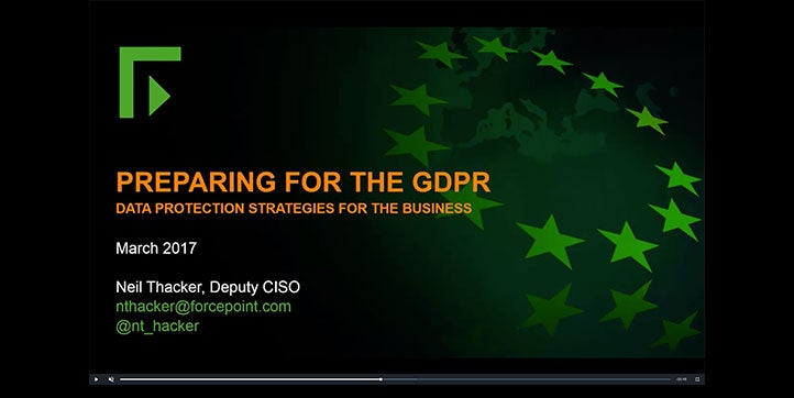GDPR - A Guidance Review Prior to Countdown