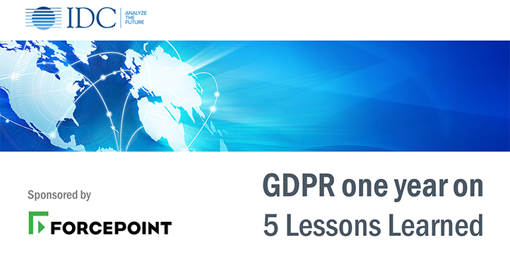 GDPR One Year On – 5 Lessons Learned