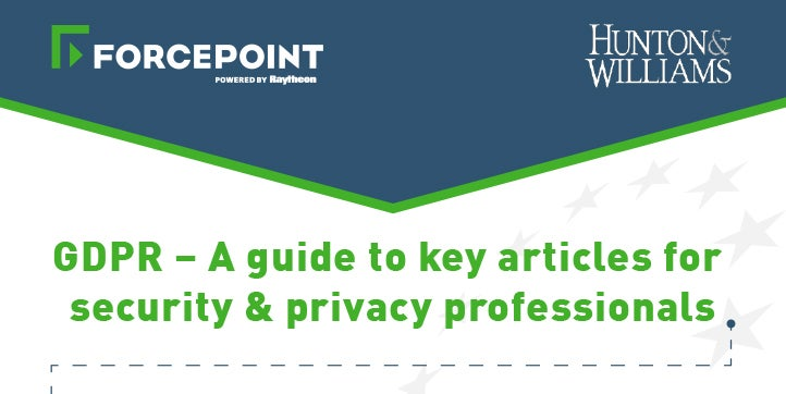 GDPR - A Guide to Key Articles for Security & Privacy Professionals