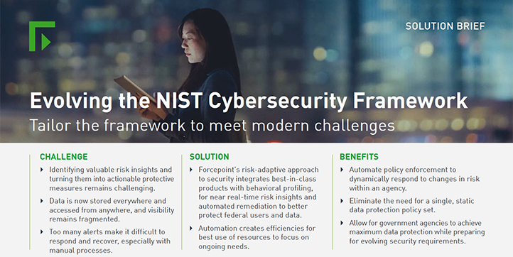 Evolving the NIST Cybersecurity Framework