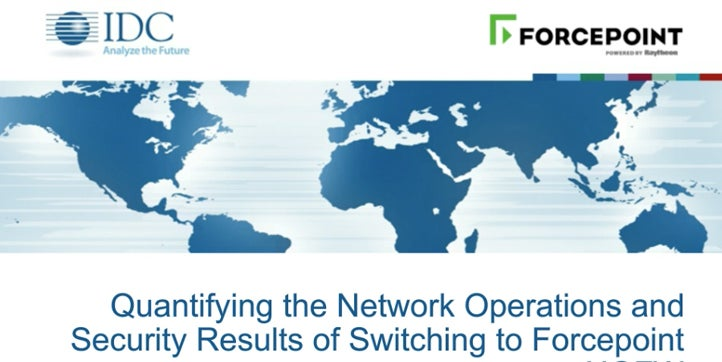 Quantifying the Network Operations and Security Results of Switching to Forcepoint NGFW