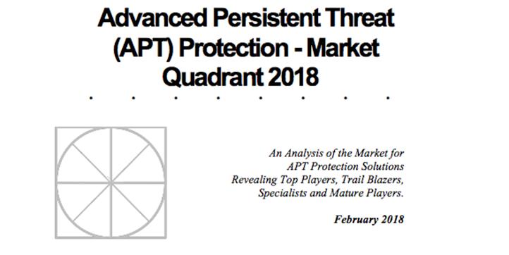Radicati 2018 APT Market Quadrant Report