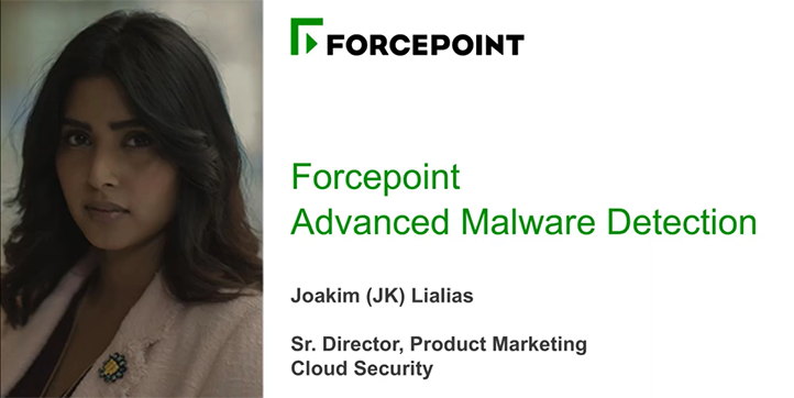 Forcepoint Advanced Malware Detection - A Step Beyond Sandboxing