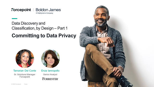 Data Discovery and Classification, By Design Part 1 - Committing to Privacy
