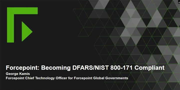 Becoming DFARS/NIST 800-171 Compliant webcast