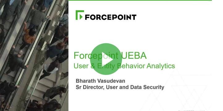 Forcepoint UEBA Webcast