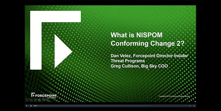 What is NISPOM Conforming Change 2?