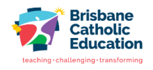 Brisbane Catholic Education Logo