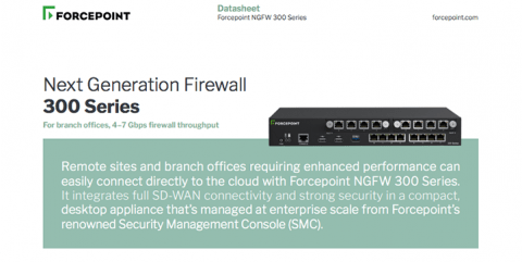 Forcepoint NGFW 300 Series