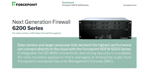 Forcepoint NGFW 6200 Series