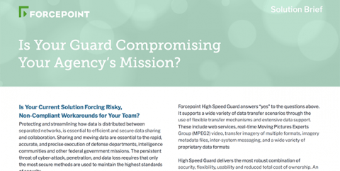 Is Your Guard Compromising Your Agency's Mission?