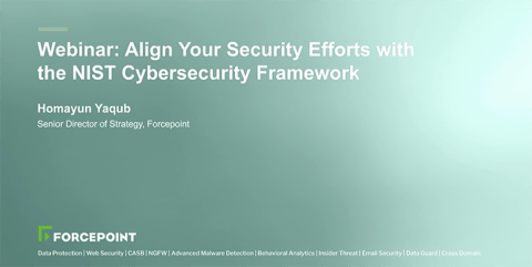 Align Your Security Efforts with the NIST Cybersecurity Framework