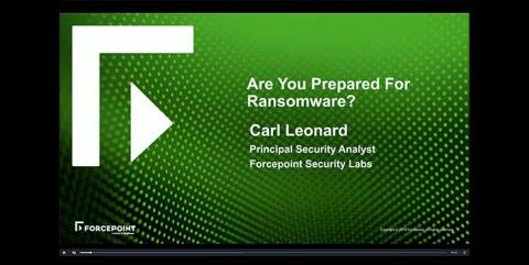 Are you Prepared for Ransomware