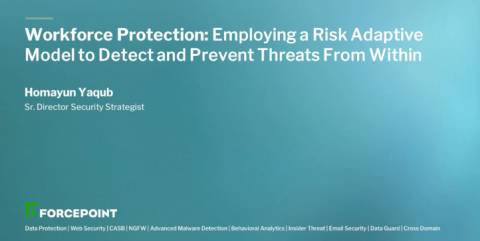 Workforce Protection: Employing a Risk Adaptive Model to Detect and Prevent Threats From Within
