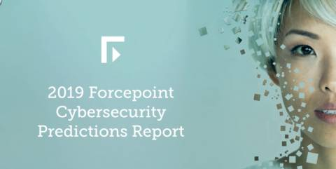 2019 Cybersecurity Predictions Infographic - A Counterfeit Reflection