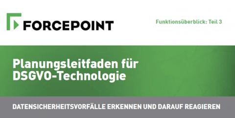 Planungsleitfaden für DSGVO-Technologie: Datensicherheitsvorfälle Erkennen Und Darauf Reagieren (Funktionsüberblick: Teil 3)