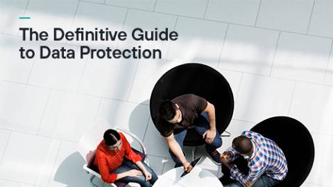 The Definitive Guide to Data Protection guide