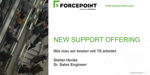 Forcepoint Support Angebote