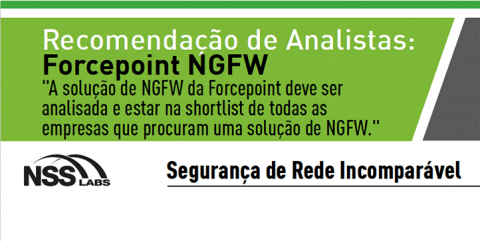 Infográfico Forcepoint NFGW Analysts