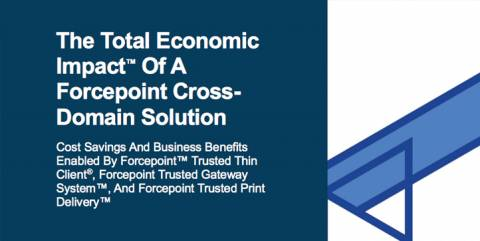 Total Economic Impact of a Forcepoint Cross Domain Solution (Forrester)