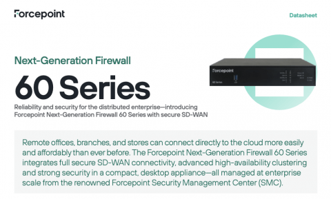Forcepoint NGFW 60 Series