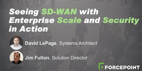 Seeing SD-WAN with Enterprise Scale and Security in Action