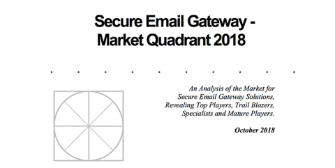 The Radicati Group Secure Email Gateway – Market Quadrant 2018
