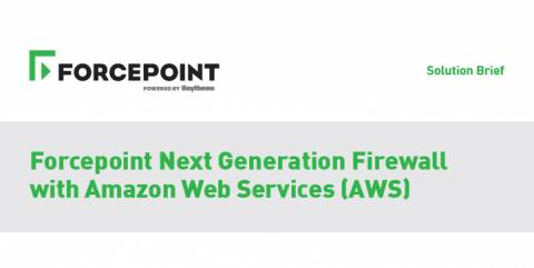Forcepoint Next Generation Firewall with Amazon Web Services (AWS)