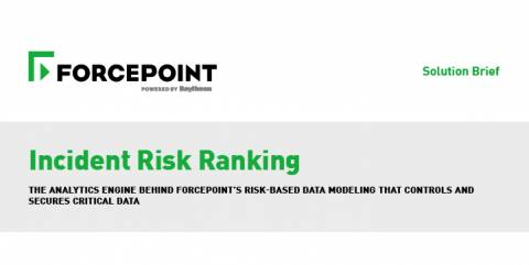 Incident Risk Ranking Solution Brief