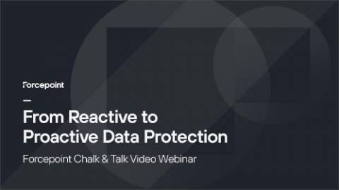 Maturing from Reactive to Proactive Data Protection