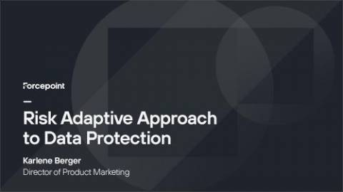 Are You Taking a Risk-Adaptive Approach to Data Protection?