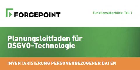 Planungsleitfaden für DSGVO-Technologie: Inventarisierung Personenbezogener Daten (Funktionsüberblick: Teil 1)