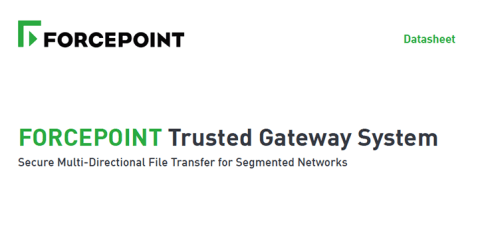 Forcepoint Trusted Gateway System™