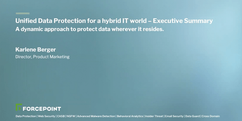 Unified Data Protection for Hybrid IT