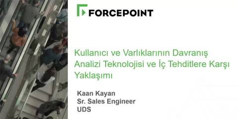 Turkish Cybersecurity Academy Webcast - UEBA April 2018