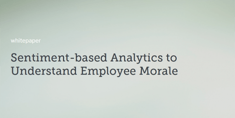 Sentiment-based Analytics to Understand Employee Morale